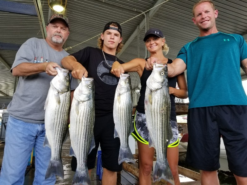 brother sister fishing texoma - Lake Texoma